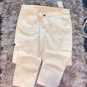 Talbots Capri khaki pants